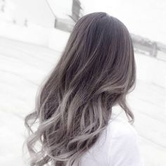 Silver ombre, grey ombre hair is the new blonde color. The number of people spotting this stunning color has grown greatly with some celebrities such as