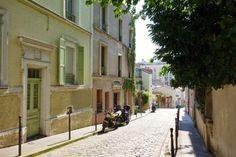 La rue Laurence-Savart Métro : Gambetta