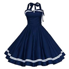Maggie Tang Femmes Robe bustier rétro 1950s Rockabilly -  Bleu - XL Maggie Tang https://www.amazon.fr/dp/B00K5NVI9Y/ref=cm_sw_r_pi_dp_NHcfxb9F3GT63