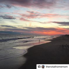 Repost @thenotathomemom  Our last sunset walk on Emerald Isle    #DitchingSuburbia #fulltimefamily #sunset #watet #emeraldisle