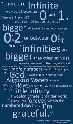 Some Infinities Are Bigger Than Other Infinities :)