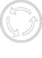 Stop Sign coloring page from Traffic signs category