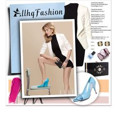 The Perfect Accent..Allhqfashion by melissa-de-souza on Polyvore featuring Miss Selfridge, H&M, Noir, Style & Co., NARS Cosmetics, Maybelline, RGB and allhqfashion