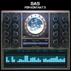 GAS KONTAKT SYNTHiC4TE | April 13 2016 | 1.86 GB GAS is a hybrid Kontakt synthesiser fusing together six-string electric guitars and analog modular effect