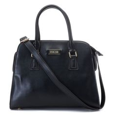 Michael Kors Gia Leather Large Black Satchels only $72.99