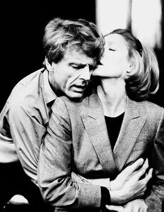 Edward Fox as Viktor, and Maggie Smith as Nadia -Interpreters (1985)
