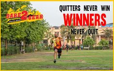 QUITTERS NEVER WIN WINNERS NEVER QUIT. #InspirationalQuote #MotivationQuote #Success #MotivationalThoughts