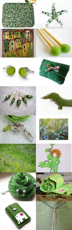 Green by Christiane Schnabel on Etsy--Pinned+with+TreasuryPin.com