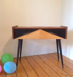 enfilade scandinave laquée noire | mid century modern furniture ... - Meuble Suedois Design