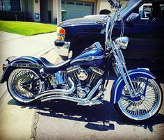 """4,251 Likes, 32 Comments - Harley-Davidson Softail (@softailgram) on Instagram: """"Taken from: [ @ranflas_n_viclas ] [ @jpdetailing_ ] •••••••••••••••••••••••••••••••••••••••••••••••…"""""""