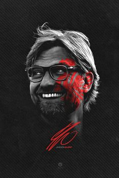 ♠ Jurgen Klopp #LFC #Artwork