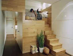 Reading Nooks and stairs by Jordan Parnass Digital Architecture