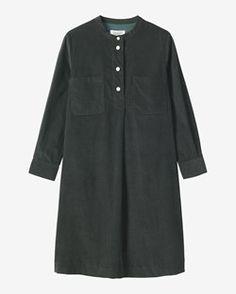 NEEDLECORD SHIRT DRESS by TOAST