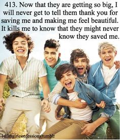 Omc. This is like, SO TRUE. This sounds so much like me, it's unbelievable <3 One Direction <3