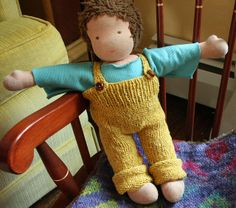 Winter's Overalls by ouryellowhouse, via Flickr