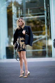 Street Style–Inspired Ways to Wear a Mini Skirt Through Fall   StyleCaster