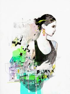 Illustrations by Raphael Vicenzi | Cuded