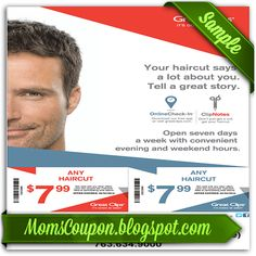 6 99 Great Clips Coupon 2018 Sale 5 99 7 99 Printable Coupon Feb