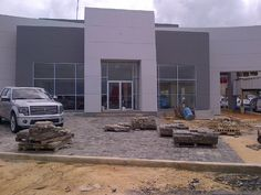 GCT Commercial building Mass Building, Building Skin, Thermal Mass, Insulated Panels, Home Reno, Concrete, Garage Doors, Construction, Fire