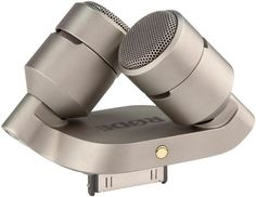 A stereo recording microphone attachment. | 33 Products Every iPhone Addict Will Want