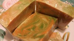 Apple & Pumpkin Strudel Cold Process Handmade Soap | Cocoa Butter | Shea Butter | Tussah Silk | Great Hostess Gift! | Shells Spa Products by ShellsSpaProducts on Etsy