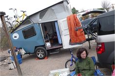 Cricket Trailer: saw one at a music festival--sweet camper. ~G ...