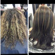 Carmel highlights! New fall look!  Kevay salon