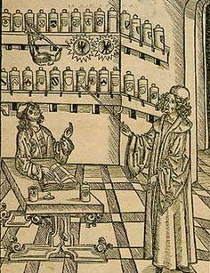 interesting info about John Hester - apothacary in Elizabethan London, credited with translating paracelsan documents into modern medicine practices http://uscientia.ca/social-sciences/articles/john-hester-first-paracelsan-translator-england
