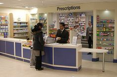 FPD Group Ltd counter and dispensary design for a  health centre pharmacy in West Yorkshire
