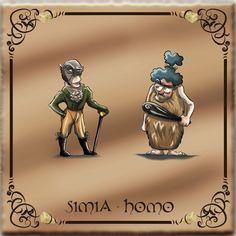 Simia - Homo  - Amazon Kindle Store http://www.amazon.it/Carmelina-Topolina-Animali-Scomparsi-ebook/dp/B00FJ1UJU6  - Smashwords https://www.smashwords.com/books/view/363670  - Kobo http://www.kobobooks.it/ebook/Carmelina-Topolina-gli-Animali-Scomparsi/book-_KhU7icoqEu4q70_YHQaZg/page1.html