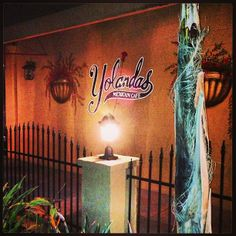 Yolanda's Mexican Café in Ventura, CA. Fun, festive and casual.