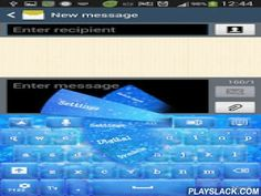 GO Keyboard Blue Sparkle  Android App - playslack.com , Make your dreams come true and shine with your true colors today! Show all your friends how much you like the color blue and be glamorous with the new GO Keyboard Blue Sparkle theme.You can now customize the appearance of your smartphone or tablet with this appealing shade of fun blue packed with sparkling diamond dust that glimmers, reminding you of runways and the most fabulous fashion shows from New York or Paris.Pretend your gadgets…