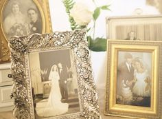 display old family wedding photos. I have already started this process :-) #Family