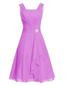 online shopping for MaliaDress Women's Square Chiffon Bridesmaid Dress Party Dress from top store. See new offer for MaliaDress Women's Square Chiffon Bridesmaid Dress Party Dress Cute Dresses, Casual Dresses, Prom Dresses, Orange Homecoming Dresses, Party Gowns, Party Dress, Ruffles Bridesmaid Dresses, Ladies Day Dresses, Cocktail Dresses With Sleeves