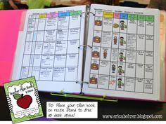 Teacher Plan Book and More!!!