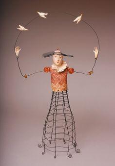 masha_poppins | Laura Balombini. Чайники и другие  wire and clay