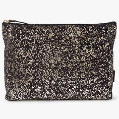 BuyJohn Lewis Metallic Splatter Holdall Wash Bag Online at johnlewis.com
