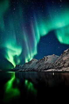 Aurora Borealis,Tromsø, Norway