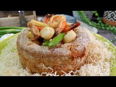 Highly Requested Restaurant Style Prosperity Yam Ring Recipe 佛钵飘香 Chinese Seafood & Chicken Stir Fry - YouTube Cooking Yams, Just Cooking, Stir Fry Spices, Chinese Cooking Wine, Chinese Food, Seafood Stir Fry, Cookbook Recipes, Cooking Recipes, Ramadan Special Recipes