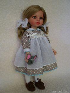 Аничка, мамина любимица. ООАК куклы Paola Reina (Паола Рейна) / ООАК игровых кукол / Шопик. Продать купить куклу / Бэйбики. Куклы фото. Одежда для кукол