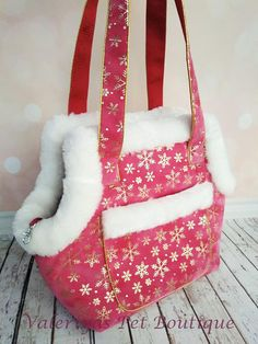28312be10e4d Dog carrier Dog bag Pet Carrier Small dog carrier Dog tote Christmas dog  Tote bag Pet purse Puppy carrier Bag for dog Christmas gift for dog