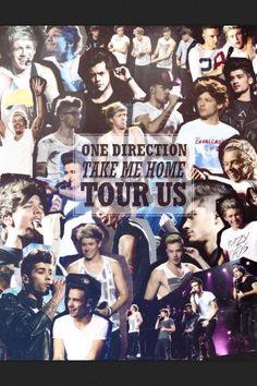 One Direction Harry Styles Louis Tomlinson Niall Horan Zayn Malik Liam Payne Take Me Home Tour US