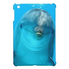 Smiling Dolphin iPad Mini Case from #Zazzle Take it today only with 50% discount (off all cases) with code CASEOFMONDAY