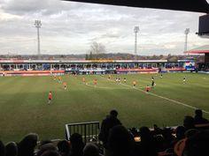 Kenilworth Road Stadium in Luton