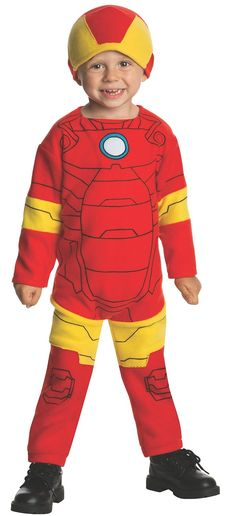 Marvel Classics Avengers Assemble Fleece Iron Man Costume, Toddler >>> You can find more details by visiting the image link.