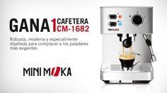 Gana una cafetera CM-1682 Mini moka Espresso Machine, Coffee Maker, Kitchen Appliances, Ideas, Pageants, Coffee Percolator, Prize Draw, Places, Home