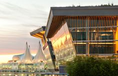 Vancouver Convention Center at Dawn