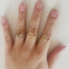 الأزياء والمجوهرات محظوظ عدد الذهب/الفضة/وارتفع الذهب مطلي خواتم للنساء الرجال عيد الحب الزواج اليوم هدية nj2010