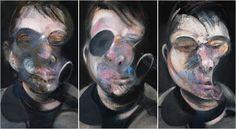 10 Badasses of Art History -Artsnapper Francis Bacon, 'Three Studies for Self-Portrait' Jose Fernandez, Lucian Freud, Francis Bacon Self Portrait, Selling Art, Triptych, Art History, Illustration, Van Gogh, Contemporary Art