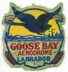USAA/RCAF jacket patch.